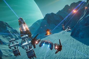 快节奏太空飞行射击游戏《深空木星战纪》专题上线
