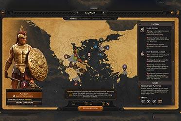 《全面战争传奇:特洛伊》古希腊战将特性介绍预告!