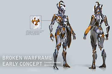 《星际战甲》TennoCon 2020公布三款2020年全新战甲