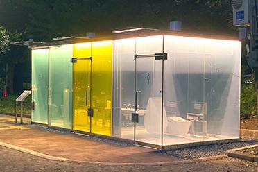 让人无法安心上厕所!网友热议日本涩谷建造透明公厕
