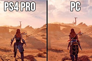 《地平线:零之曙光》PC版VS PS4!PC版真的不行?