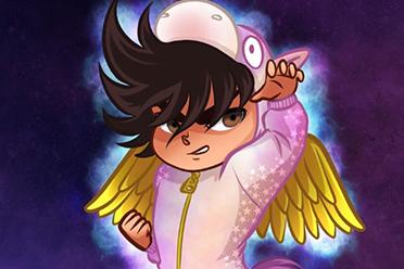 幼儿版的星矢?国外插画家笔下的卡通风日系动漫角色