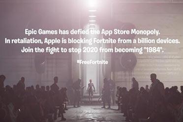 苹果后Epic再战谷歌!《堡垒之夜》已从谷歌Play移除