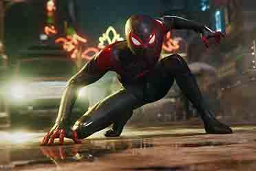 《蜘蛛侠:迈尔斯莫拉莱斯》截图放出 展示光追效果