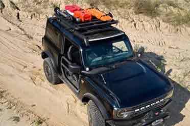 《罪恶都市》同款:福特发布5款Bronco概念车官图