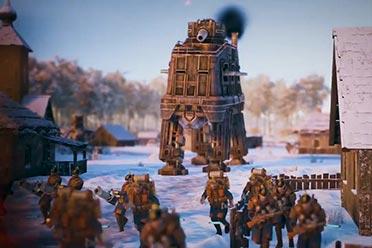 柴油朋克RTS《钢铁收割》Saxony阵营介绍影像公布!