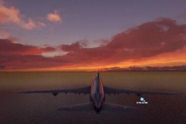 每一帧都堪比截图!《微软模拟飞行》追逐日落演示