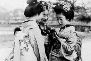 1920年日本艺伎端庄迷人!16张珍贵罕见的历史照片