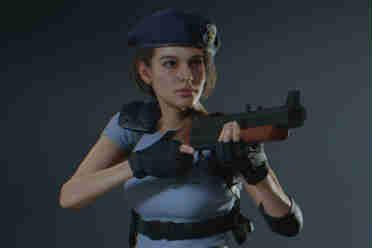 《生化危机2重制版》吉尔mod发布 特警女队员再出战