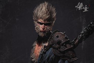 《黑神话:悟空》主角3D模型图 服装毛发细节满满