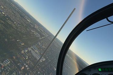 《微软飞行模拟》玩家分享画面bug 超奇葩令人捧腹