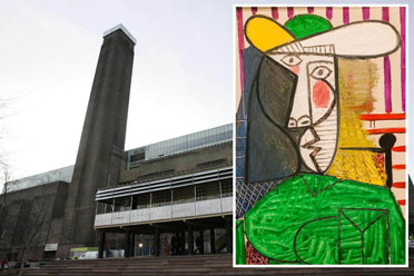 男子撕毕加索名画被判18个月!被撕画作价值1.8亿