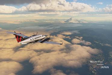 《微软飞行模拟》宣传片!紫禁城 富士山等真实呈现