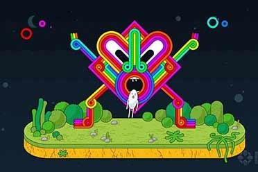 迷幻艺术风格动作游戏《Spinch》预告赏 支持简中!