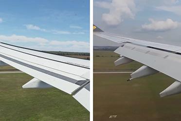 《微软飞行模拟》VS现实 奥兰多机场飞机降落神同步