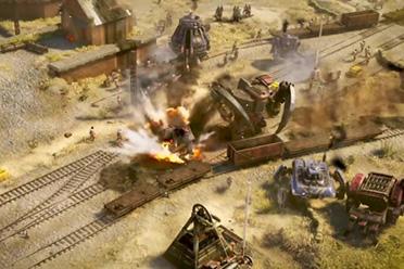 《钢铁收割》发售预告公布 架空一战黑科技主宰战场