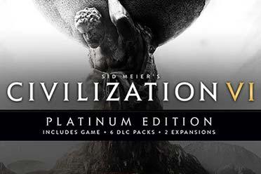 Steam每日特惠:《文明6:白金》《无主之地2:年度版》