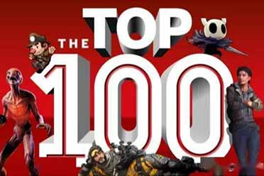 外媒盘点当下最佳PC游戏TOP100 榜首游戏居然是它!
