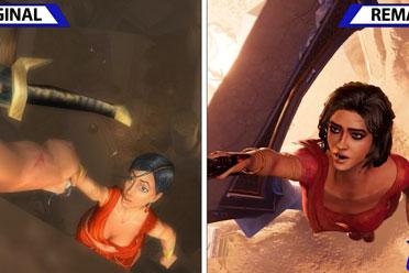 《波斯王子:时之砂》原版VS重制版!画质的全面升级