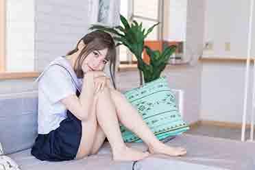 荡漾着青春气息的JK美少女 11区Coser紗愛美图赏