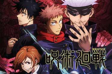 四主角登场!10月新番《咒术回战》第2弹主视觉图赏