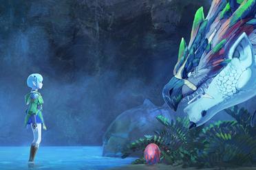 怪猎系列新作《怪物猎人物语2破灭之翼》专题站上线