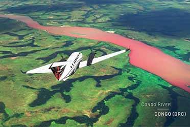 一览绝美风光!《微软飞行模拟》环游非洲4K影像公布