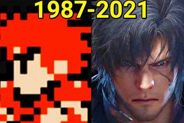 《最终幻想》系列进化史!三十多年冒险仍在继续