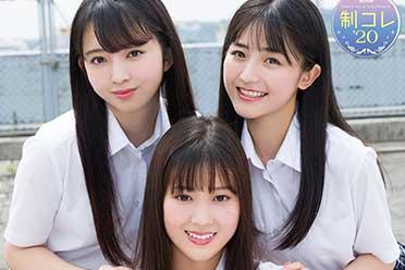 日本高中制服美少女三甲出炉:散发满满的青春香气!