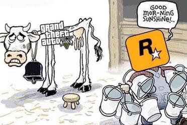 真的一滴都没有了!PS5《GTA5》疑似售价近600元