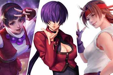 既有实力又有颜值 《拳皇》系列超强女角色大盘点!