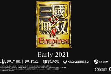 TGS20:光荣系列新作《真三国无双8:帝国》公布!