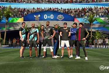 《FIFA 21》公布VOLTA内可用明星及掉落物