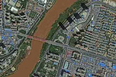 中国首曝最高分辨率卫星照:黄河波纹明显!细节丰富
