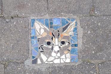 马赛克也能很可爱!布鲁塞尔人行道马赛克装饰欣赏