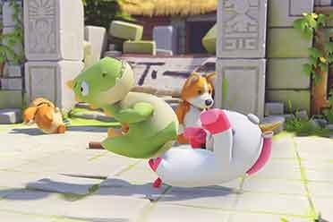《派对动物》Demo在线峰值超6万 超越《糖豆人》!