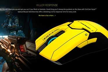 雷蛇推出《赛博朋克2077》主题鼠标!上架几分钟售罄