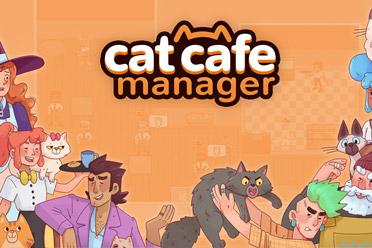 卡通风格的模拟经营类游戏《猫咖经理》游侠专题上线