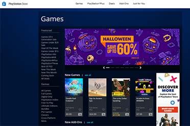 新的PlayStation商店将于10月21日至26日发布!