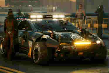 《赛博朋克2077》25分钟演示 大量炫酷载具截图公布!