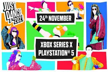 《舞力全开2021》将于11月2日登陆PS5和 Xbox平台!