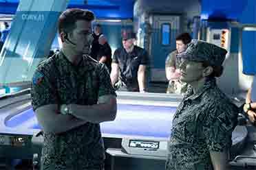 《阿凡达2》公布全新新片场照 阿德莫将军登场亮相