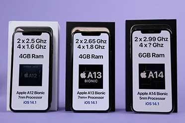 苹果运行速度:iPhone 12 Pro比11Pro和XS明显快!