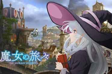 清新治愈的异世界魔法动画 跟着小魔女一起环游世界