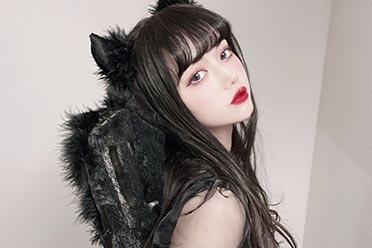欧派+蕾丝+美貌好可口!萝莉塔风美少女村田实果子!