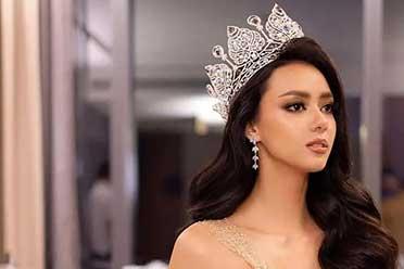 27岁泰国最新环球小姐冠军 绝世混血美颜火遍全网!