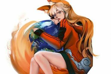 谷歌和火狐浏览器都变成人了!画师Jennyudee作品赏