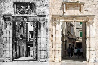 对比100年间的变化!摄影师游遍欧洲重拍老照片