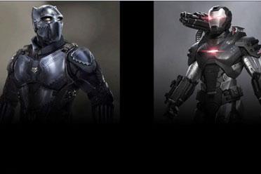 《漫威复仇者联盟》新角色泄露!黑豹和战争机器首曝