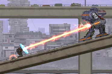横版机甲动作闯关游戏《MECHBLAZE》游侠专题站上线